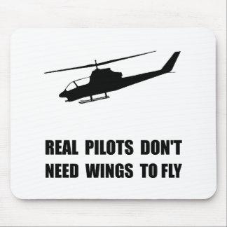 Alas experimentales del helicóptero alfombrilla de ratón