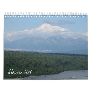 Alaska 2014 calendario de pared