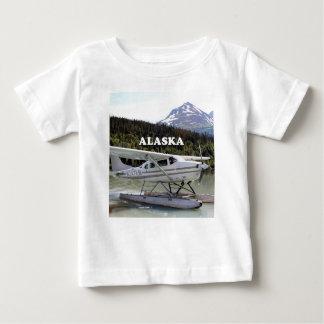 Alaska: Avión del flotador, lago 3 trail Camiseta De Bebé