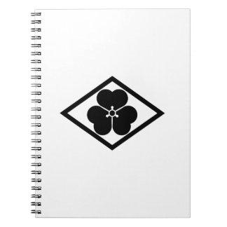 Alazán de madera en Rhombus Libro De Apuntes