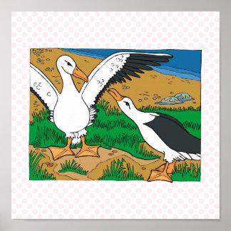 Albatros del Al y del aliado Póster