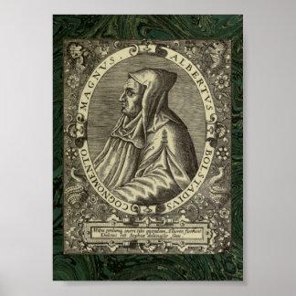 Albertus Magnus: Retrato 1597 Póster