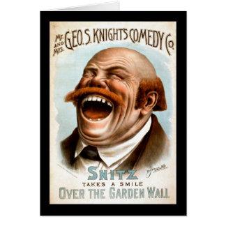 ¡Alboroto de la risa Tarjeta