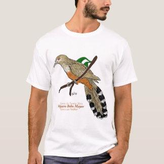 Alcalde de Pájaro Bobo/Lagarto-Cuco puertorriqueño Camiseta