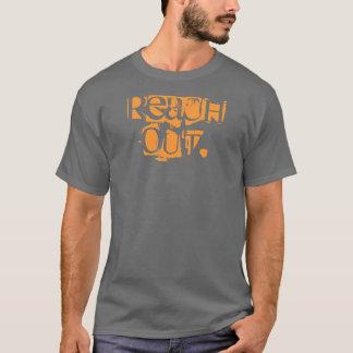 alcance hacia fuera camiseta