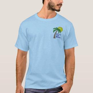 Alcance la colección de la playa camiseta