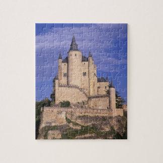 Alcazar, Segovia, Castile León, España, la UNESCO Puzzle