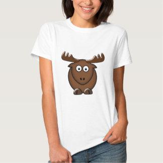 Alce moose camiseta
