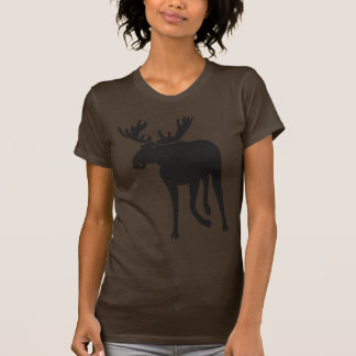 Alce moose elk deer antler sweden camisetas