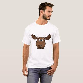 Alces básicos para hombre de la camiseta