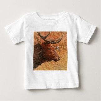 Alces de Bull Camiseta De Bebé