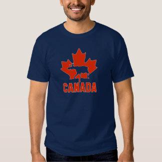 Alces de Canadá Camisetas