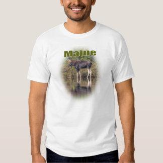 Alces de Maine Camisetas