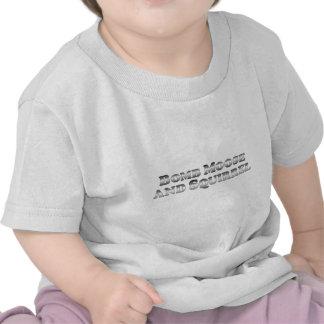 Alces y ardilla de la bomba - básicos camiseta