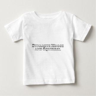 Alces y ardilla de la dinamita - básicos camiseta de bebé