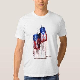 Alcohol de la camiseta puertorriqueña del boxeo