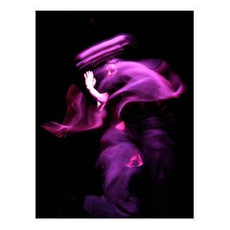 Alcohol de la postal de la fotografía de la danza