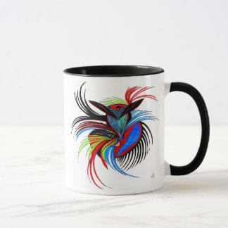Alcohol del pájaro taza