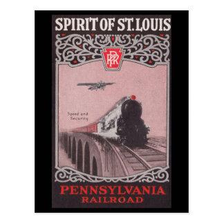 Alcohol del tren de PRR de St. Louis Postal