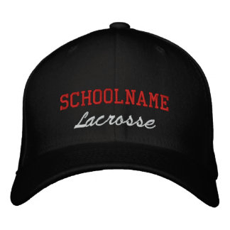 Alcohol LaCrosse - gorra bordado de la escuela Gorra Bordada