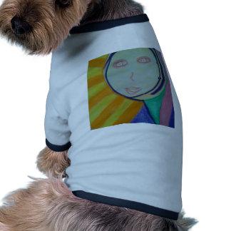 Alcohol soleado camiseta con mangas para perro