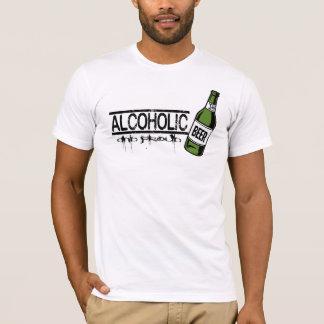 Alcohólico y orgulloso - camiseta de consumición