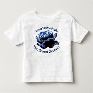 Aldurian subió la camiseta del jersey del niño