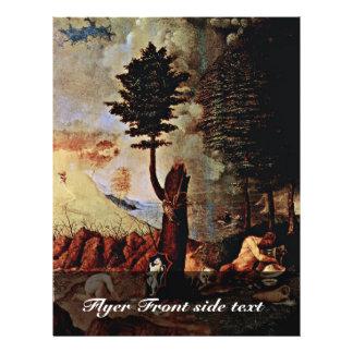 Alegoría (alegoría de la prudencia o de la sabidur folleto 21,6 x 28 cm
