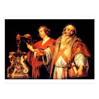 Alegoría religiosa de Jacob Jordaens Postal
