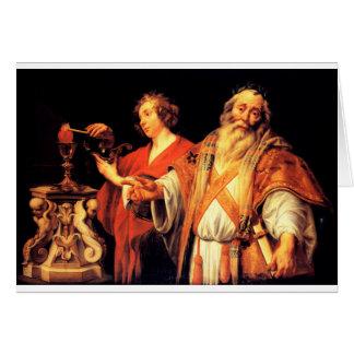 Alegoría religiosa de Jacob Jordaens Tarjeta De Felicitación