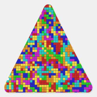 Alegre Pegatina Triangular