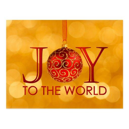 Alegría a la postal del mundo