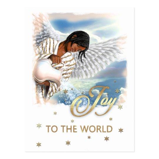Alegría al mundo. Postales del navidad del ángel