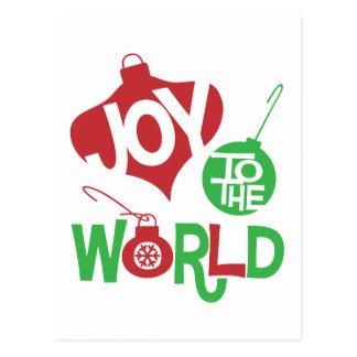 Alegría al mundo postal