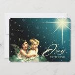 Alegría al mundo. Tarjetas de Navidad religiosas