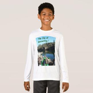 Alegría de la camiseta de Geocaching. Escena