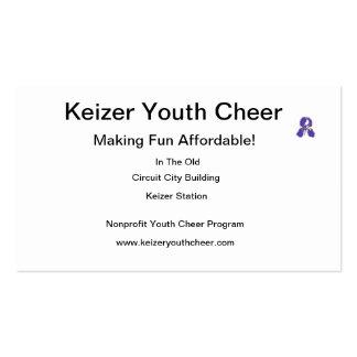 Alegría de la juventud de Keizer Tarjetas Personales