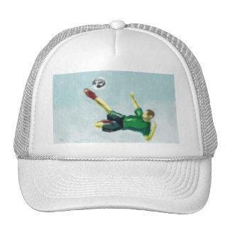Alegría del arte del fútbol gorros bordados