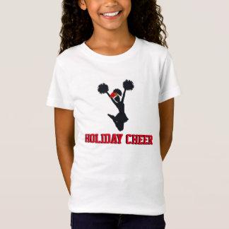 Alegría del día de fiesta que anima diseño del camiseta
