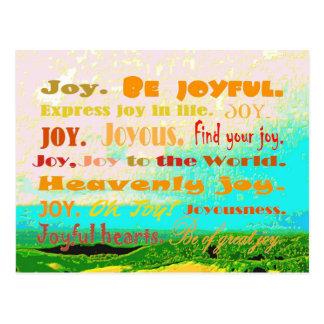 alegría postal