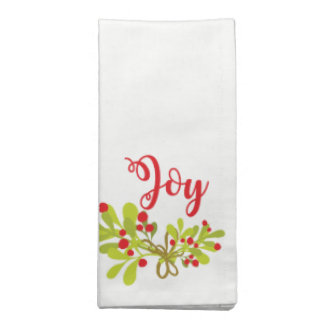 Alegría y servilletas del paño de la celebración