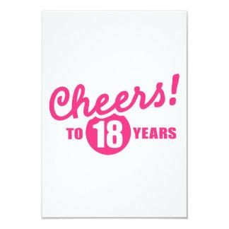 Alegrías a 18 años de cumpleaños anuncio
