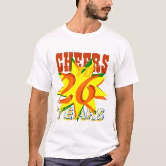 Alegrías a 26 años camiseta