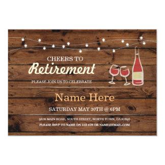 Alegrías a la invitación de madera del vino del