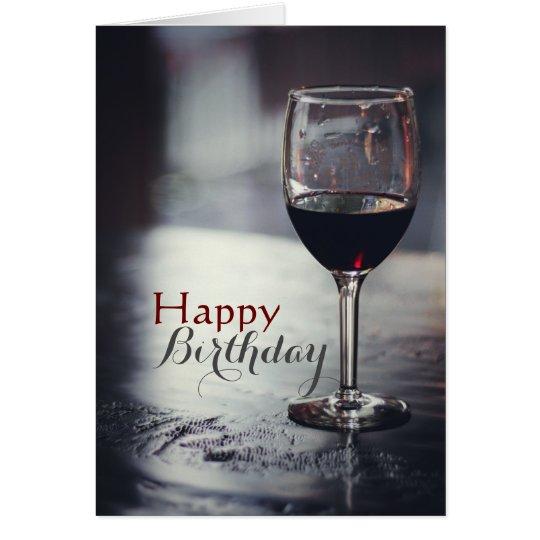 Alegrías a usted y a una tarjeta de cumpleaños