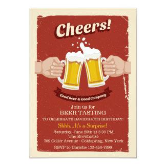 Alegrías con la buena invitación de las cervezas