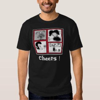 """¡Alegrías de la camiseta de los hombres """"! """""""