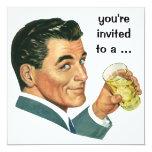Alegrías de los cócteles de la fiesta de invitaciones personales