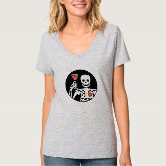 Alegrías esqueléticas camiseta
