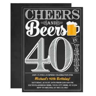 Alegrías y cervezas a 40 años de invitación del